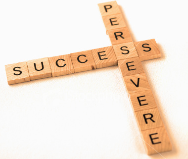 Success / Persevere in Scrabble Tiles